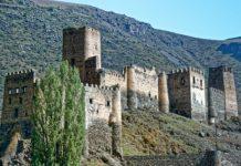 zamek w gruzji