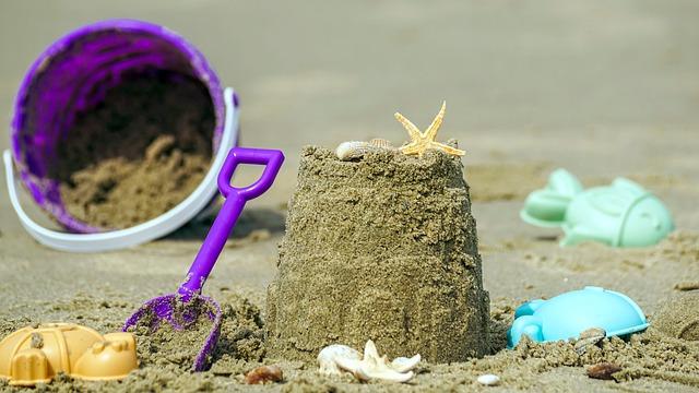 babka na plaży