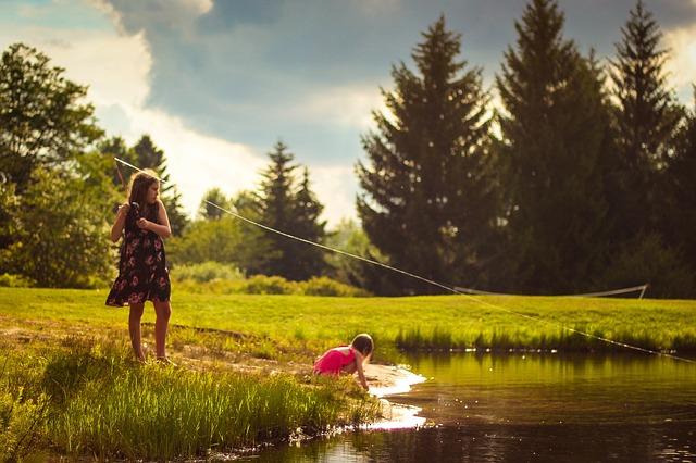 wakacje z dziecmi nad jeziorem